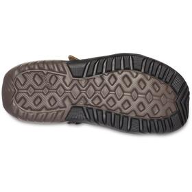 Crocs Swiftwater Mesh Deck Sandalias Hombre, Oliva